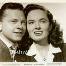 RARE Closeup Mickey ROONEY Ann BLYTH Killer McCOY Original 1947 Movie Photo