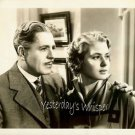 Ingrid Bergman Warner Baxter c1941 Original Movie Photo