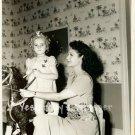 Rochelle Hudson Child Star Gloria De River Toy Horse c.1941 Original Photo