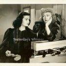 Joan Bennett EVE ARDEN Original c.1941 Columbia Movie Photo by M.B. Paul