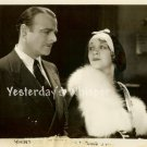 Lowell Sherman MARIAN NIXON The PAY-OFF c.1930 Original Movie Photo