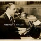 Lowell Sherman Vintage Typewritter BACHELOR APARTMENT Original c1931 Movie Photo