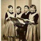 1963 TV Promo PHOTO Singing KANE Triplets Bill Dana