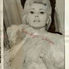 ORIGINAL Zsa Zsa Gabor Waldorf Towers Manhattan PHOTO