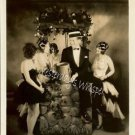 Rare Maurice Chevalier DECO ERA Showgirls c1929 Photo