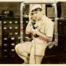 Maurice Chevalier Big Pond Vintage Phone Original Photo