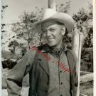 Harry Carey Jr. Cowboy Disney TV Western B&W 8x10 Photo