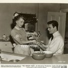 Louis JOURDAN Lili PALMER Retro KITCHEN Scene ORIGINAL 1948 MGM Movie Photo