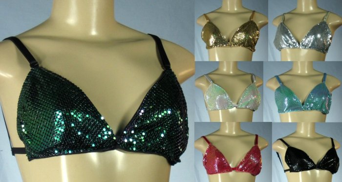 Junior Metal Bra Tops