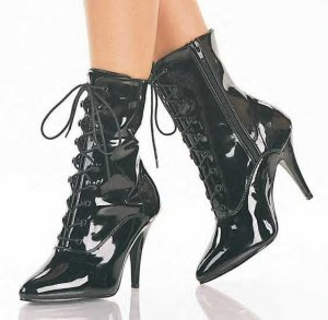Vanity Women's Lace Up Ankle Boots
