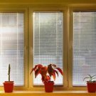 "1"" Aluminum Mini Blinds in White"