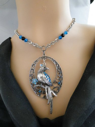 Set 29 Necklace and Earrings Set Bluebird of Happiness