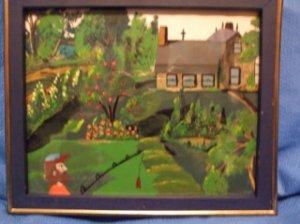 Farmer!  Original Acrylic by RWV