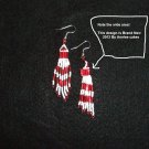 Native American Regalia Earring Set  ItemA540