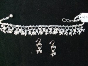Native American Beaded Wedding Set  Item W720