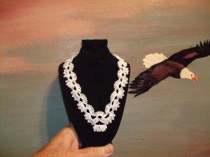 Wedding Beaded Necklace                     Item W880