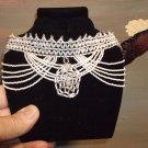 Wedding Seed Beaded Necklace   Item W890
