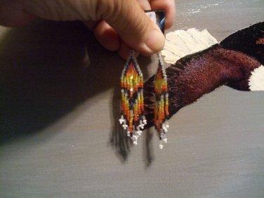 Arrow Drop Pow Wow Earrings ItemW280