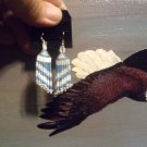 Pow Wow Regalia Beaded Earrings ItemT160