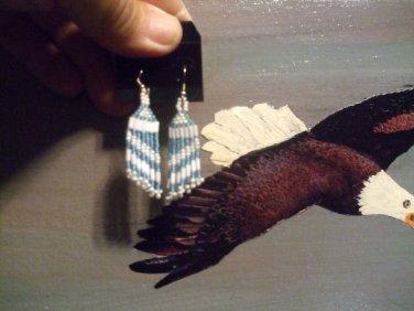 Pow Wow Regalia Beaded Earrings ItemT160