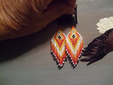 Native Dance Earrings Item TE400