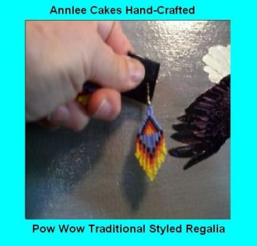 Native Dance Earrings Item TW675