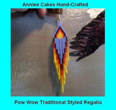 Native American Dance Earrings Item TW676