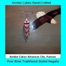 Pow Wow Dance Earrings Item TW677