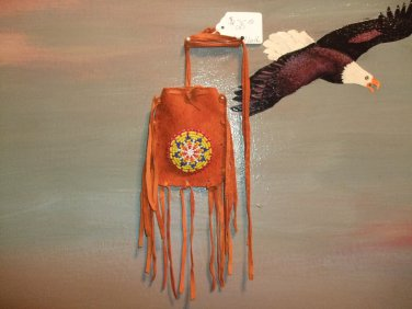 Beaded Medicine Bag Item MB300