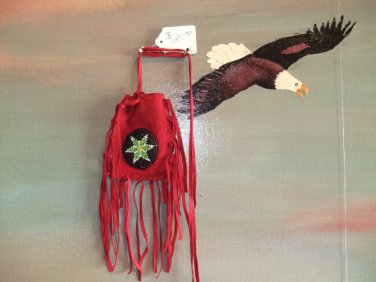 Red Medicine Bag Item MB340