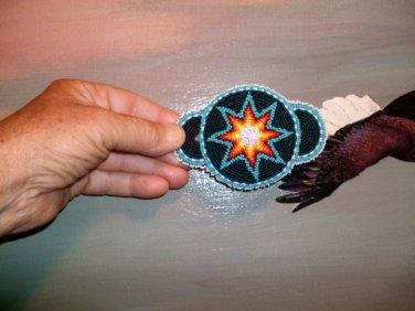 Iroquois Blue Star Barrette
