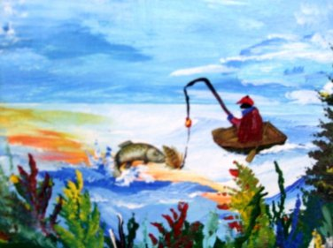 A Fish Tale by artist  Robert W. Vincent