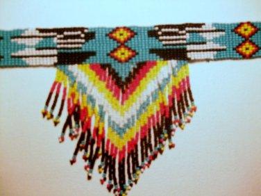 Native Dance Beaded Choker Item PW570