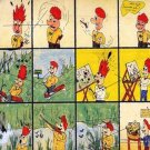 Trouble TWO Cartoon Board Cavas Print