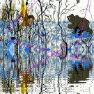 Winter Warrior and Bear Canvas Print