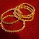 Pretty Pearlesque Pearl and Rhinestone Stretch Bracelet Set from Avon 5 Bracelet