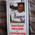 Nolan Ryan's Video Guide to Card Collecting VHS
