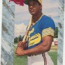 1991 Classic Draft Picks Manny Ramirez RC