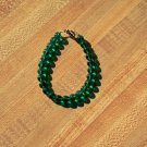 Emerald green Cats Eye Bracelet