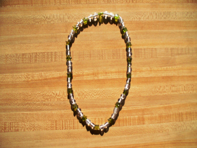 Green Star Light Necklace