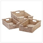 CORN HUSK NESTING BASKETS-AVAILABLE NOW