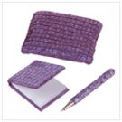 PURPLE SEQUIN PURSE SET-AVAILABLE NOW-#35218