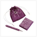 BEADED PEN AND NOTEBOOK SET-AVAILABLE NOW-#33534