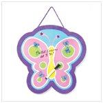 BUTTERFLY DRY ERASE BOARD-AVAILABLE NOW-#37025