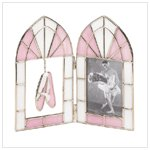 BALLET STAINED GLASS PHOTO FRAME-AVAILABLE NOW-#37593