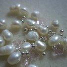 Beaded Bracelet Kit - Pink & Freshwater Pearls