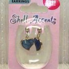 Heart shaped accent earrings