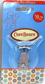 Pink Care Bear Necklace