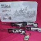 BWFK11W4K - 5 Piece CSA Pocket Knife Collector Set with Keychain in Display Tin