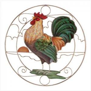 Rooster Suncatcher